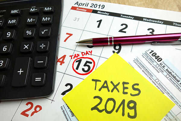tax changes for 2019